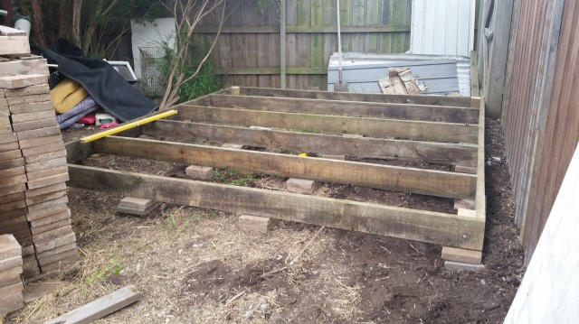 Preserving shed foundations
