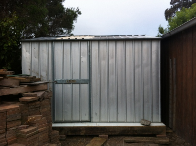 Preserving shed without outer skin